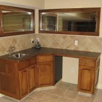 Corner Liquor Cabinet Ideas by U Shaped Corner Bar Cabinet Design With Glass Door Wine Coolers