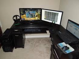 Mainstays L Shaped Desk With Hutch by Black Computer Desk L Shaped Top 25 Best Modern L Shaped Desk