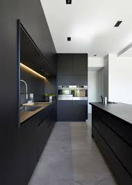 Full Size Of Kitchen Roomexcellent Black Decor With Modern High Gloss Island