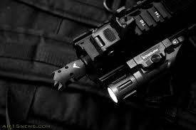 ar 15 weapon light lux180 model 34 36 multi color led weapon