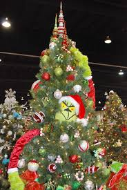 The Grinch Christmas Tree Star by Artwife Needs A Life Festival Of Trees Art For Charity