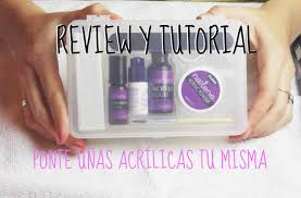 Nailene Uv Gel Lamp Walmart by Review Kit Nailene Deluxe Salon Acrylic Y Tutorial Como Ponerte