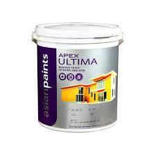 Asian Paints Apex Ultima Wall Paint 4 Ltr Lemon Yellow Wall Paint