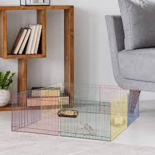 pawhut hamster auslauf freilaufgehege für kleintier 8