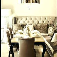 Settee For Dining Room Table With Kitchen