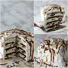 Easy Ice cream Cake Recipe Easy Ice Cream Sandwich Recipe