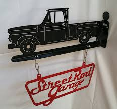 100 66 Chevy Truck Amazoncom 64 Wall Mount Sign Handmade