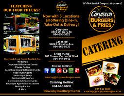 100 Burger Food Truck Catering Carytown S Fries Richmond Virginia