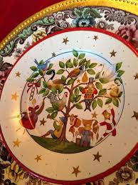 Spode Christmas Tree Platter by Carolinajewel U0027s Table December 2013