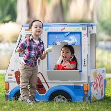 100 Toy Ice Cream Truck Playhouse Kids Playhouse Make Believe Toy Truck