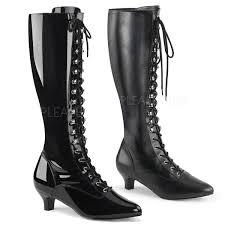 fab 2023 2 inch heel knee high boots