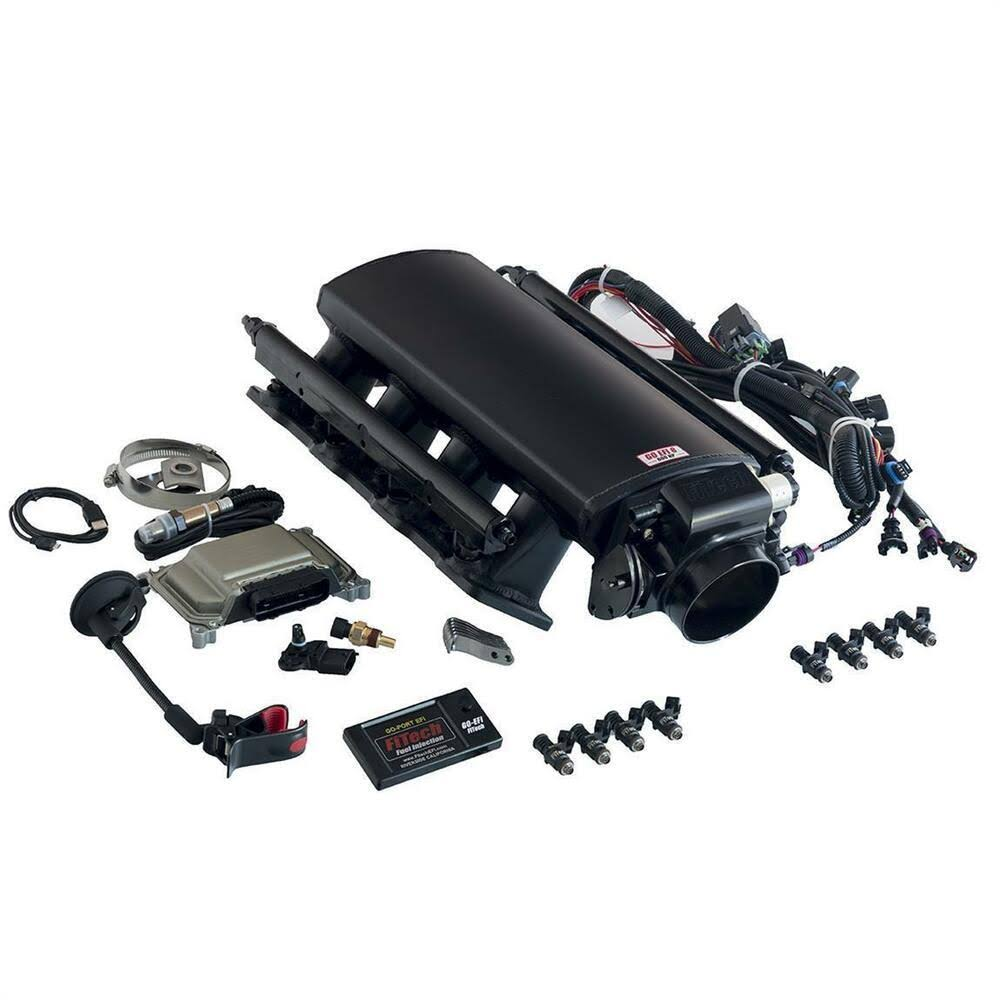 Fitech Fuel Injection 70002 Ultimate LS Induction System - LS1/ LS2 / LS6 with Transm