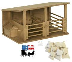 HORSE STABLE WOOD TOY Amish Handmade Wooden Equestrian Barn Stall ... Equestrian Stable Doors Manufacturer Solid Oak And Soft Wood Barn With Living Quarters Builders From Dc Horse Door Design Unique Hardscape Diy Mini Wooden Toy Rob Palmer Youtube Kits Structures Home Organize Screekpostandbeam For Your Holiday Farm House Backyard Wigh A Lawn Trees And Grids View Videos Sand Creek Story Testimonials Time Lapse Cstruction Building Stalls 12 Tips For Dream Wick The 7 Reasons Why You Need Fniture Barbie Dolls How To Build Toy Barns Real Huge Toy Holds 10 Melissa Doug Show Play Land Of Nod