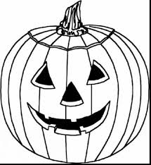 Impressive Halloween Pumpkin Coloring Pages To Print With Printable And