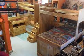 Triple Bunk Bed Plans Free by Bunk Bed Bedroom Queen Size Bunk Bed With Desk Underneath Foyer