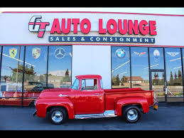 1956 Ford F-100 Custom Cab For Sale In Rancho Cordova, CA | Stock ...