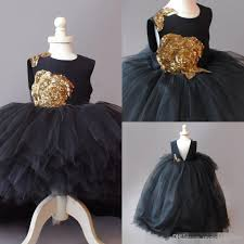 cupcake gold sequins flower dresses tulle long hi lo ball