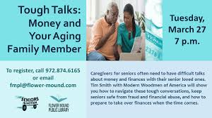 SummerFunShowcase Tough Talks Money And Your Aging Family Member
