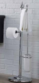landhaus bad accessoires toilettenpapierhalter mit