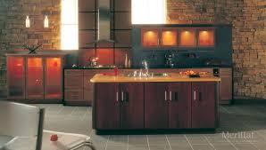 Masco Cabinets Las Vegas by Merillat Masterpiece Martel In Cherry Honey Spice Merillat