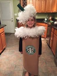 DIY Starbucks Coffee Cup Costume