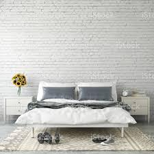 innen moderne schlafzimmer wandschablone stockfoto und mehr bilder aktenmappe