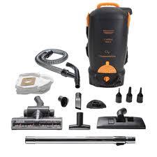 GV Battery Powered 8 Qt Pro Black BackPack Vacuum Cleaner GV8B