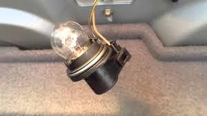 bmw e39 third brake light socket and bulb information