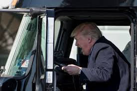 100 The Life Of A Truck Driver Donald Trump Pretended To Drive A At The White House Time