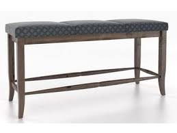 Canadel Upholstered Seat Bench
