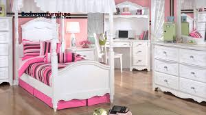 Ashley Furniture Zayley Dresser by Ashley Exquisite Youth Canopy Bedroom Set Youtube