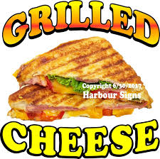 100 Grilled Cheese Food Truck DECAL Choose Your Size Sign Sticker