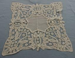 Battenburg Lace Curtains Ecru by Vintage Handmade Battenberg Lace Square Doily 7 50 Via Etsy