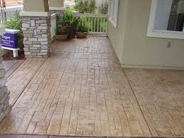Advanced Concrete Solutions Houston Tx by Stamped Concrete Patterns Stamp Patterns Backyard Design