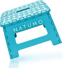 natumo premium tritthocker klapphocker 150kg faltbar küchenhocker klapptritt bad hocker klappbar klein kinderfußbank kindertritt aufstiegshilfe