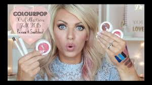 NEW ColourPOP 90's Collection | Fall 2015 - REVIEW & SWATCHES Huge Colourpop Haul Lipsticks Eyeshadows Foundation Palettes More Colourpop Blushes Tips And Tricks Demo How To Apply A Discount Or Access Code Your Order Colourpop X Eva Gutowski The Entire Collection Tutorial Swatches Review Tanya Feifel Ultra Satin Lips Lip Swatches Review Makeup Geek Coupon Youtube Dose Of Colors Full Face Using Only New No Filter Sted Makeup Favorites Must Haves Promo Coupon