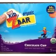 Clif Kid Z Bar Organic Chocolate Chip