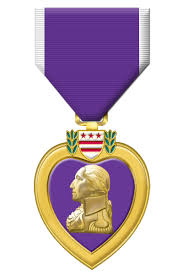 Military Awards And Decorations Records by Purple Heart From Concussion Clarification Operation Ward 57