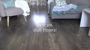 floor recipe to restore shine to wood