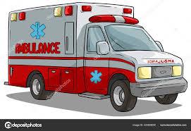 100 Emergency Truck Cartoon Ambulance Emergency Car Or Truck Stock Vector GB_Art