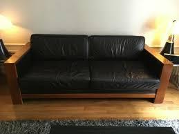 canapé cuir d occasion canapé cuir trois places charleston de hugues chevalier meuble d