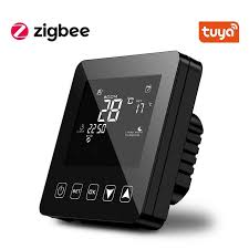 tuya smart zigbee thermostat temperature controller hub
