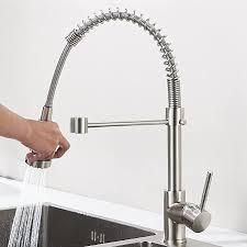 aimadi küchenarmatur mischbatterie küche wasserhahn spiralfederarmatur küchenspüle geschirrbrause spültischarmatur einhandmischer ausziehbar