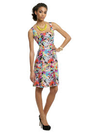 psychedelic floral dress by nanette lepore for 57 rent the runway