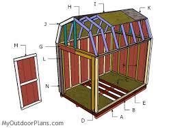 Zekaria Timber Frame Gambrel Barn Plans