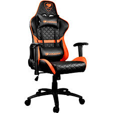 COUGAR Armor One Gaming Chair (Black And Orange)