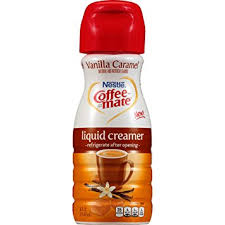 Coffee Mate Vanilla Caramel Liquid Creamer 6 Count