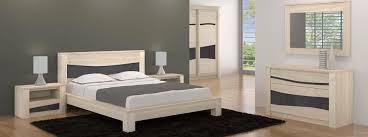 chambre a coucher mobilier de mobilier de chambre contemporain ondine meubles bois massif