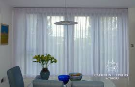Sheer Voile Curtains Uk by Handmade Curtains Catherine Lepreux Interiors Edinburgh Fife