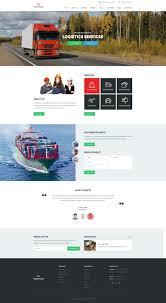 Truck Plus - Transportation And Logistics PSD Template | Pinterest ...